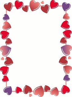 Heart border : Free Stock Photo