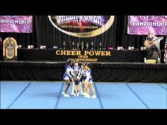 Twisters All-Stars Senior Level 2 Stunt Group - YouTube