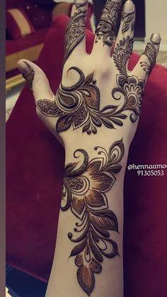 Henna Hand Designs, Mehndi Designs Finger, Modern Henna Designs, Latest Arabic Mehndi Designs, Floral Henna Designs, Mehndi Designs Feet, Mehndi Designs 2018, Mehndi Designs For Beginners, Wedding Mehndi Designs