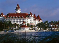 The Grand Floridian...beautiful.