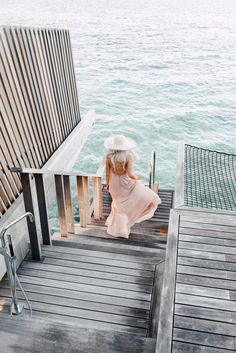Pretty Dresses in the Maldives (Aspyn Ovard) The Places Youll Go, Places To Go, Aspyn Ovard, Beach Please, Look Girl, Adventure Is Out There, Summer Of Love, Pink Summer, Summer Colors