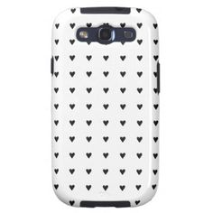 Black Hearts - Samsung Galaxy S3 Case
