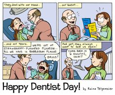 dental comics | back to web comics