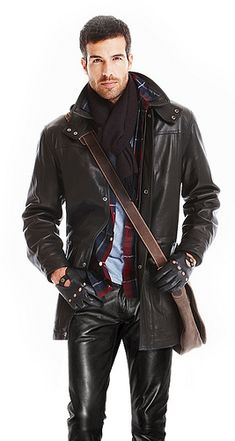 Ok it's dress down Friday at work. So use your urban leather gear to impress! #UrbanLeather