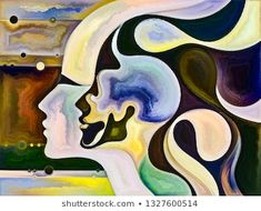 Find Metaphorical Inner Colors stock images in HD and millions of other royalty-free stock photos, illustrations and vectors in the Shutterstock collection. Thousands of new, high-quality pictures added every day. Male Profile, Vector Stock, Vectors, Royalty Free Stock Photos, Romance, Relationship, Female, Illustration, Artist