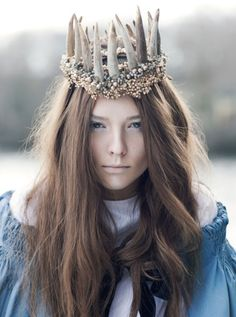 .Scandinavian Lucia, one of the most ancient and archaic goddesses of the winter solstice