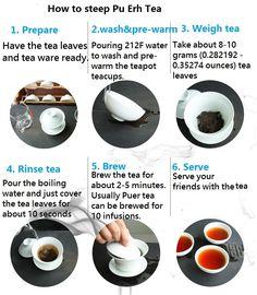 Tea Etiquette, Diy Food, Food Tips, Pu Erh Tea, Tea Culture, Japanese Tea Ceremony, Chinese Tea, Brewing Tea, Tea Blends
