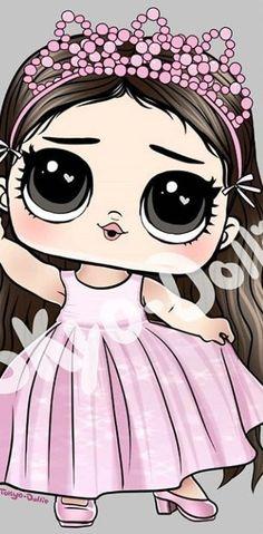 Doll Clothes Patterns, Clothing Patterns, Unicorn Wallpaper Cute, Barbie, Lol Dolls, Cartoon Characters, Free Pattern, Scrapbook, Disney Princess