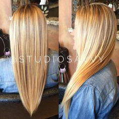 Go blonde or go home!! My client is the perfect California girl!! The blonde color pallet goes on and on. Looks like she was born with it. A beautiful blonde will never go out of fashion!! Sleek and silky with shine will always turn heads. #hairfashion #haircolorist #hairstyle #haircolor #blondehair #blonde #salonlife #fashion #style #studiosavvysalon #modernsalon #sandiego #delmar #california #ranchosantafe @studiosavvysalon @framesiusa #framesi #framesiusa