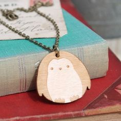 It's cold enough for penguins today.  #gingerpickle #Jewellery #necklace #shopping #shoponline #Finnieston
