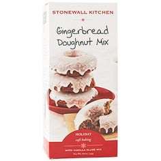 Stonewall Kitchen Gingerbread Doughnut Mix
