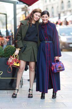 Street Style Paris Fashion Week Fall 2014 - Paris Fashion Week Fall Street Style - Harper's BAZAAR