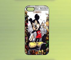 Zombie Mickey 70 Years Marvel Comics Case For iPhone 4/4S, iPhone 5/5S/5C, Samsung Galaxy S2/S3/S4, Blackberry Z10