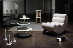 Table basse Twist  plateaux pivotants//  Design House Stockhom