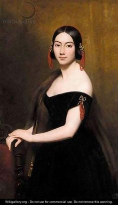 Portrait Of A Lady - Ary Scheffer
