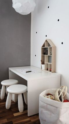 IKEA Stuva bench as desk
