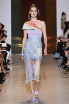 Tsumori Chisato fashion show ready to wear collection spring summer 2014 in Paris