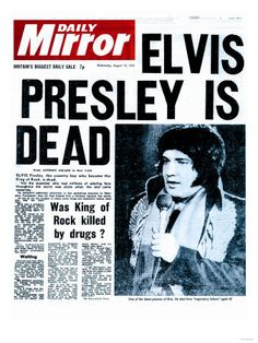 Elvis Presley Pictures After Death | ... YOUNG ….THE TRAGIC DEATH OF THE LEGENDARY ELVIS PRESLEY » CD5300364
