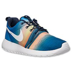 Lightweight running performance and a trendy aesthetic combine in the Nike Roshe Run Men's Casual Shoes. A new twist on the full mesh Roshe Run Shoes that were released in early 2012, the new model showcases a unique upper for a stylish look that stands out from the crowd.  With a name inspired by that of a Zen Master, these sneakers were designed to be as simple as possible, giving you only what you need and none of what you don't. They utilize the basics: Heel support, quarter support and…