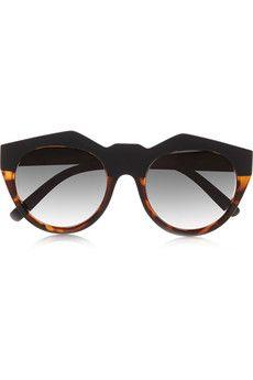 cdf89b9754 Le Specs Neo Noir round-frame acetate sunglasses