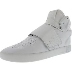 Basketball: Adidas Men S Tubular Invader Strap High-Top Leather Basketball Shoe -> BUY IT NOW ONLY: $51.99 on eBay!