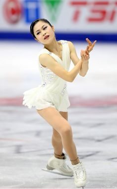 Satoko Miyahara of Japan. Currently ranked 4th going into the 2017-18 season. Could be a contender for an Olympic medal in 2018.