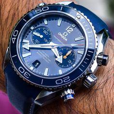 I love this watch.....Omega Seamaster Planet Ocean Chrono