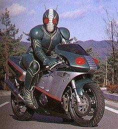 A larger but incomplete history of Kamen Rider.   (ComicVine, 2013)
