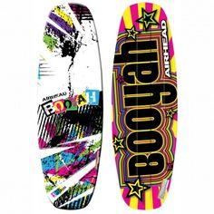 BOOYAH WAKEBOARD | You'll scream BOOYAH! after one ride on this AIRHEAD wakeboard! BOOYAH is designed for riders looking for smooth transition through turns and a consistent pop off the wake.