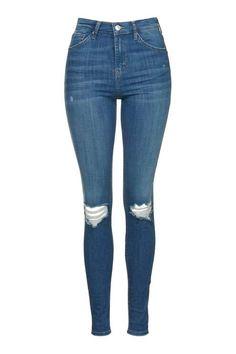 MOTO Authentic Rip Jamie Jeans