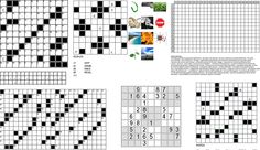locig puzzles with grids logo