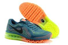 new york db726 62230 2014 Atlantic Vert Noir Orange Chaussures 621078-012 Hommes Nike Air Max  2014 Orange Shoes