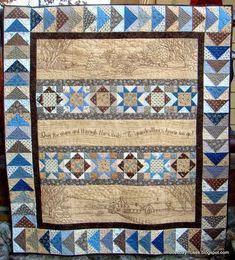 Over the River and Through the Woods quilt