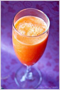 Sreelus Tasty Travels: Orange & Carrot Power Juice