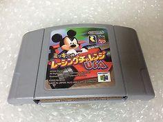 Mickey no Racing Challenge USA Nintendo 64 Japan NTSC-J Rare Disney