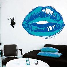 Want to kiss me. Vinilo decorative desde / decorative vinyl since 59,29€ #lokoloko #glamour
