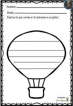 Fichas escritura creativa para Primaria Creative Writing, Writing Tips, 1st Grade Writing, Dual Language, Spanish Classroom, I School, Teacher Resources, Diy And Crafts, Teaching