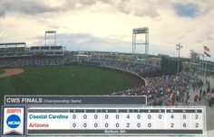 Thank you, God, and thank you , Chants and Gary Gilmore...for the first victory in CWS...