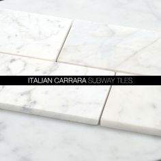 Bianco Carrara Marble 12x12 Tile and Subway Tiles from http://allmarbletiles.com