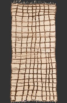 TM 2015, pile rug from the Ourika valley, central High Atlas, Morocco, ca. 1970s/80s, 310 x 150 cm (10' 2'' x 5'), p.o.a.