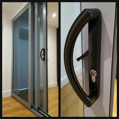 Space Efficient Triple Track Aluminium Sliding Patio Door With High  Security Locking Systems. Telephone 01158