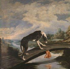 Paul de Vos, El perro y la presa, s. XVII. Museo Nacional del Prado: Galería online