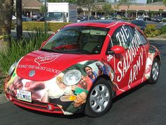 Salvation Army Volkswagen Beetle 1 (JC) by Jack Snell., via Flickr
