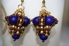 """náušnice """"kráľovské"""" Pearl Earrings, Drop Earrings, Pearls, Jewelry, Fashion, Pearl Studs, Jewlery, Moda, Jewels"""