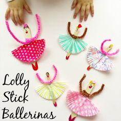 Lolly Stick Ballerinas
