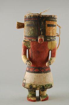 Brooklyn Museum: Arts of the Americas: Kachina Doll (Maolo)