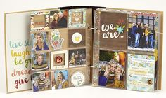 SN@P! Binder created by Sue Kendall using our We Are...Family collection