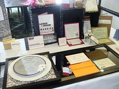 Paper Romance Wedding Invitations: New Displays & Bridal Show Pictures