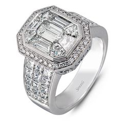 Fine Rings 2.00 Ct Bypass Shank Round Diamond 925 Silver Wedding & Engagement Ring Size5-11 Fast Color Jewelry & Watches