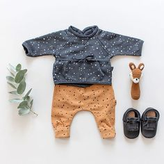 Baby Boy✨ On craque pour ce petit look naissance My Little Cozmo en molleton tout doux♡ #babylook #babyboy #mylittlecozmo #toughcookie #sebra #plumetiboutique #plumeti